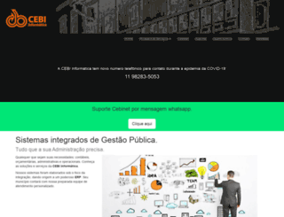 cebinet.com.br screenshot