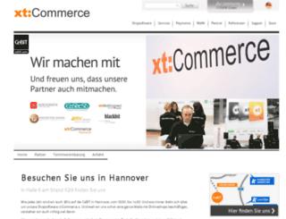 cebit.xt-commerce.com screenshot