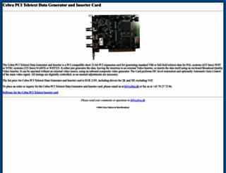 cebra.dk screenshot