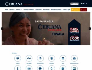 cebuanalhuillier.com screenshot