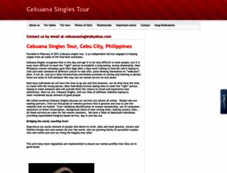 cebuanasingles.webs.com screenshot