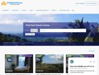 cebubesthomes.com screenshot