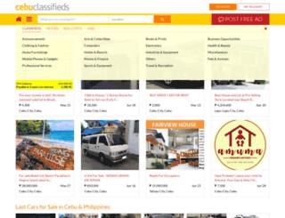 cebuclassifieds.com screenshot