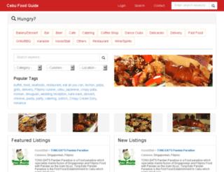 cebufoodguide.com screenshot