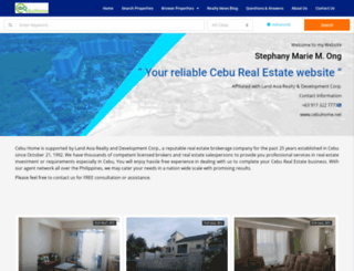 cebuhome.net screenshot