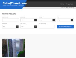 cebujtland.com screenshot