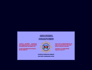 cec.gov.az screenshot