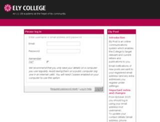 cecc.schoolpost.co.uk screenshot