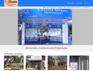 ceciliaalvarezinmob.com.ar screenshot