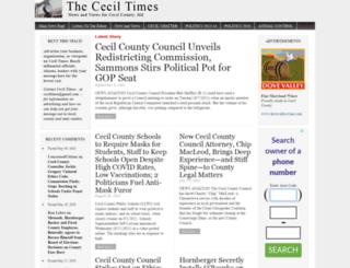 ceciltimes.com screenshot