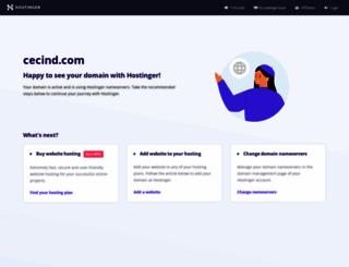cecind.com screenshot