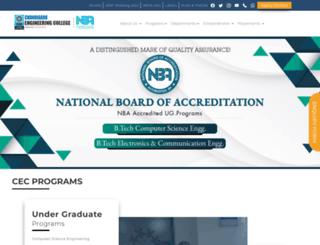 cecmohali.org screenshot