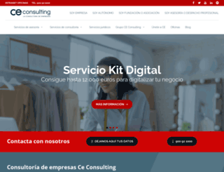 ceconsulting.es screenshot