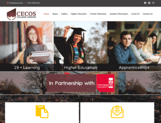cecos.co.uk screenshot