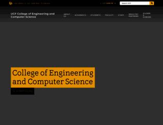 cecs.ucf.edu screenshot