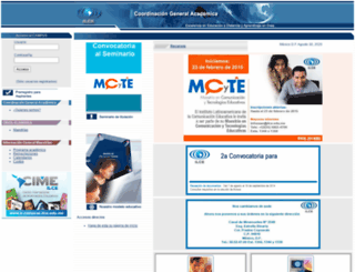 cecte.ilce.edu.mx screenshot