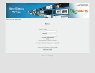 cecytesvirtual.edu.mx screenshot
