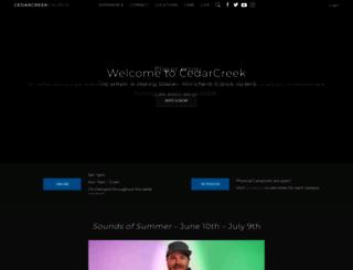 cedarcreek.tv screenshot