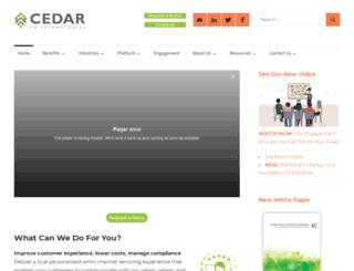 cedardoc.com screenshot
