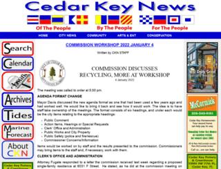 cedarkeynews.com screenshot