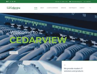 cedarviewng.com screenshot