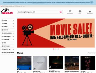 cede.ch screenshot
