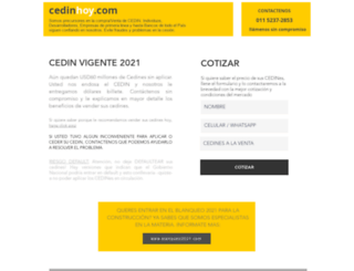 cedinhoy.com screenshot