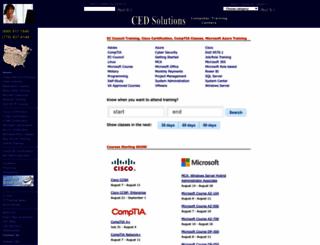 cedsolutions.com screenshot