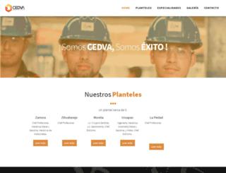 cedvamichoacan.com screenshot