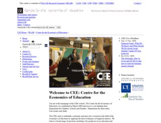 cee.lse.ac.uk screenshot