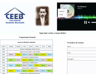 ceeb.radio.br screenshot