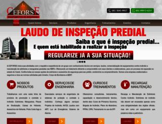 ceforse.com.br screenshot