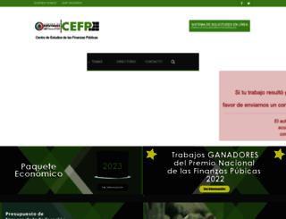 cefp.gob.mx screenshot
