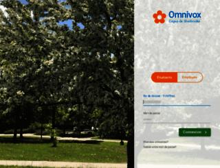 cegepsherbrooke.omnivox.ca screenshot