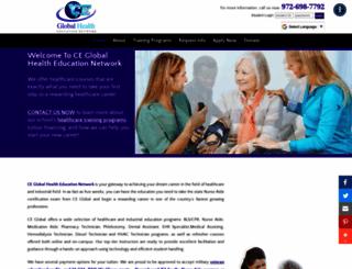 ceglobalhealth.com screenshot