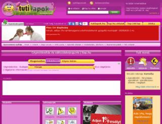cegmodositas.tlap.hu screenshot
