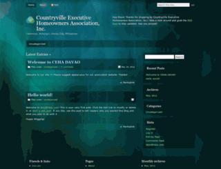 cehadavao.wordpress.com screenshot