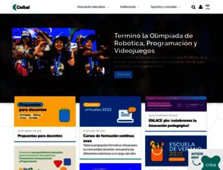 ceibal.edu.uy screenshot