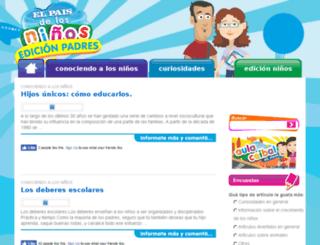 ceibalpadres.elpais.com.uy screenshot