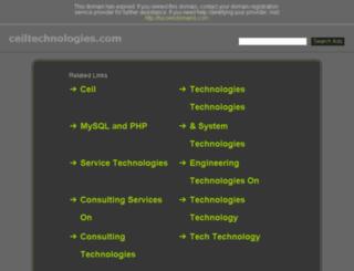 ceiltechnologies.com screenshot
