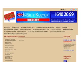 cekmekoyingilizcekursu.com screenshot