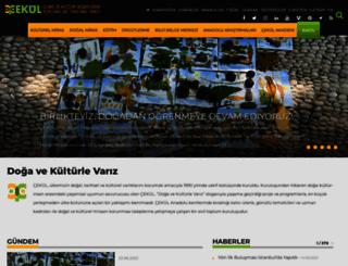 cekulvakfi.org.tr screenshot