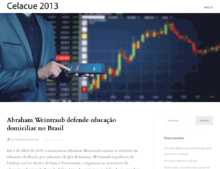 celacue2013.cl screenshot