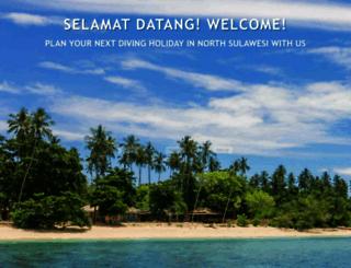 celebesdivers.com screenshot