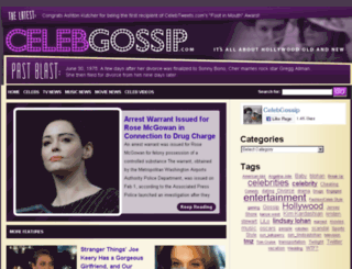 celebgossip.com screenshot