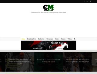 celebnmusic247.com screenshot
