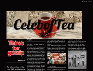 celeboftea.com screenshot