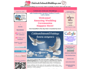 celebrateintimateweddings.com screenshot