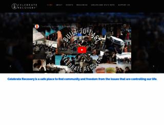 celebraterecovery.com screenshot
