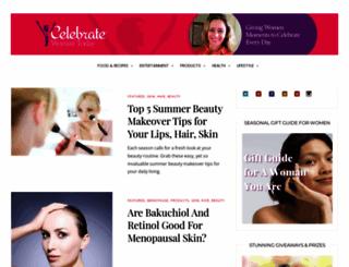celebratewomantoday.com screenshot